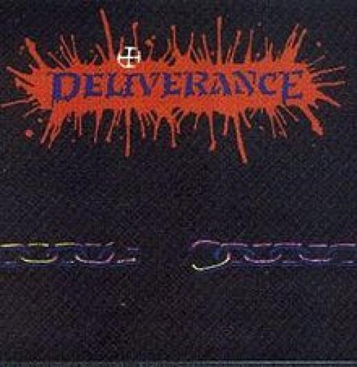 """""""Deliverance"""" album cover, 1989"""