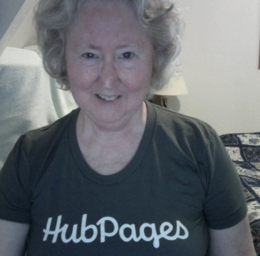 The shirt is my gift from HubPages.