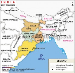 Linguistic Features of  India: Eastern and North Eastern States