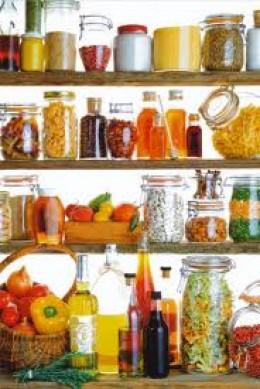 Kitchen cupboard beauty