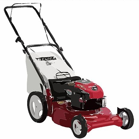 A Typical Push Lawnmower