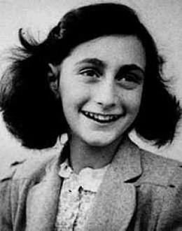 Anne Frank, a writer. June 12, 1929 - 1945