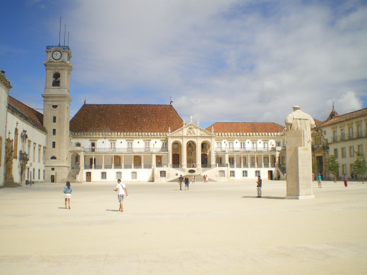 The old square of the University