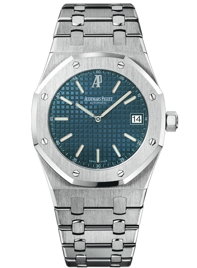 A Royal Oak selfwinding model with a stainless steel case.