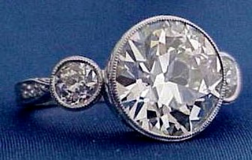 A ring with a certified center diamond that appraised at nearly $100,000. I sold it for under $45K.