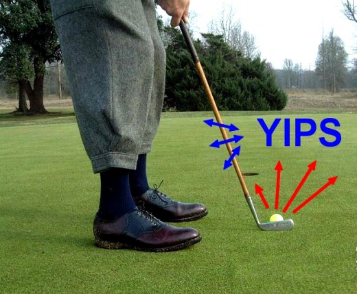 The Dreaded Yips! This has destroyed many professional golfers careers. Will the long putter be banned.