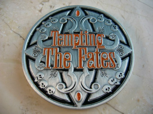 Tempt the Fates Geocoin