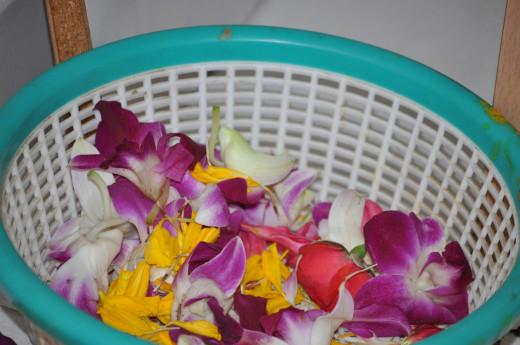 Flowers for Archana.