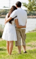 Hugging for 20 seconds activates enough oxytocin to relax a person.