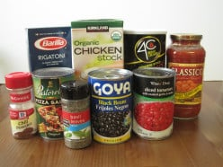 Just a few of my most-used pantry staples