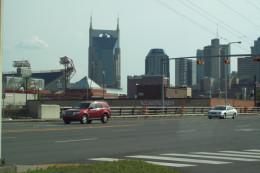 Traveling through Nashville, Tennesee