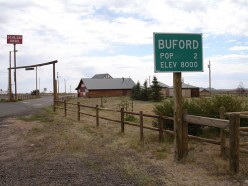 Buford Wyoming in Aug 2006