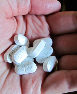 It's only a few pills.....