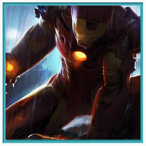 Iron Man fan-made art.