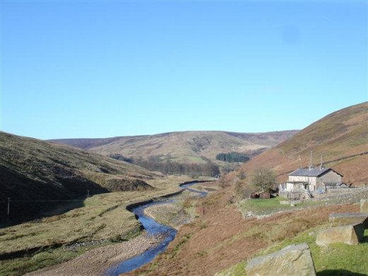 Smelt Mill cottages, Bowland Pennine Mountain Rescue Team HQ.