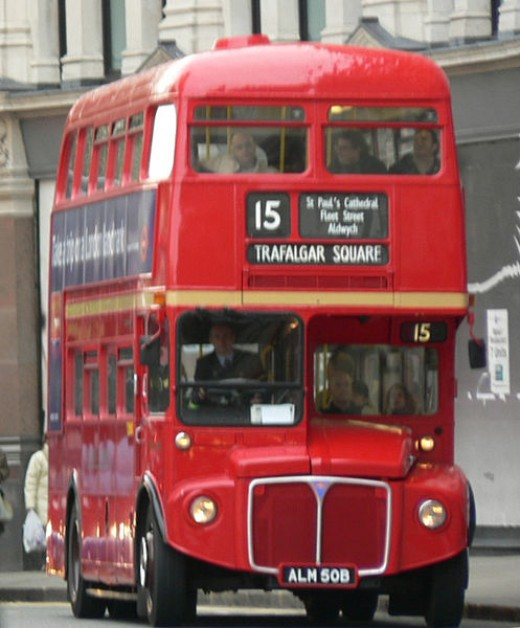 One of the great London Buses.