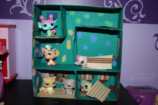 Her own Littlest Pet Shop home.