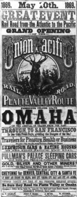 Who Started the Union Pacific Railroad?