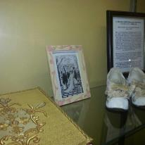 The shoes St Therese wore.