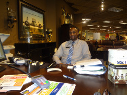 Bernard, Salesman at Ashely Furniture HomeStore in O'Fallon, MO.