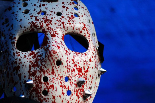 Jason's hockey mask (though not an exact replica of the one he wears in the films)