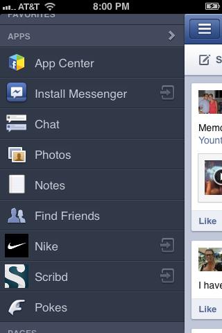 """Tap """"Photos"""" beneath Apps."""