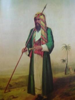 Burton in Arab Dress