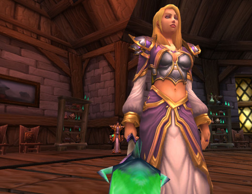 Jaina Proudmoore, leader of Theramore.