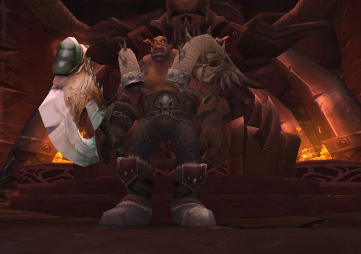 Garrosh Hellscream, leader of the Horde.