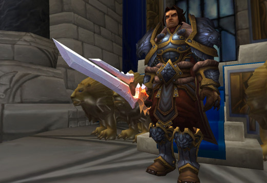 King Varian, leader of the Alliance.