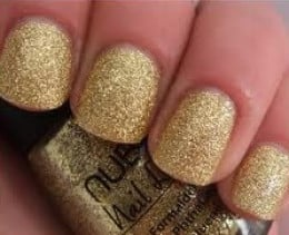 Nubar Gold Glitter