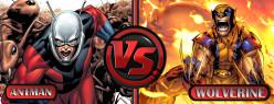 Ant-man VS Wolverine