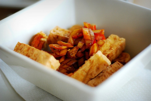Philippine Tokwa't Baboy - Tofu and Beancurd Dish