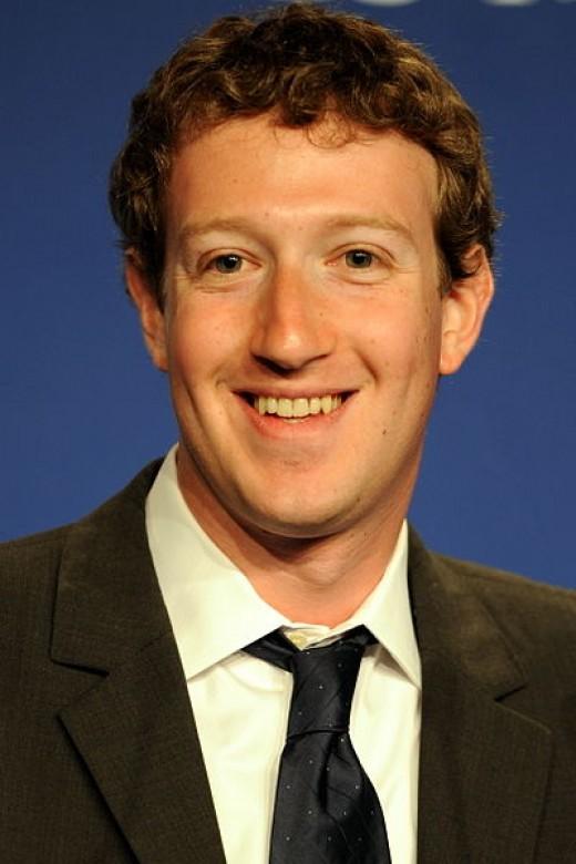 Mark Zuckerberg co-founder of Facebook