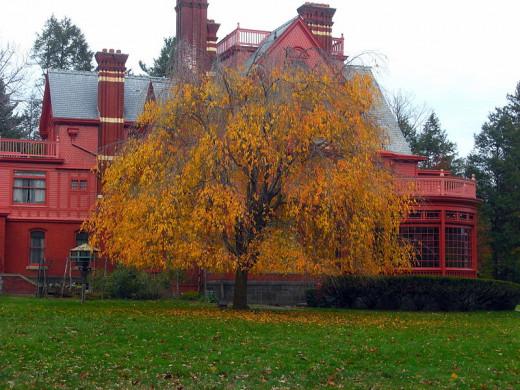 Glenmont,  West Orange New Jersey's Thomas Edison's last house in Llewelyn Park