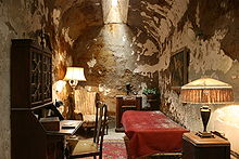 Al Capone's cell at Eastern State Pen.