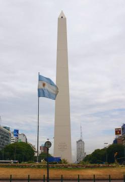 Buenos Aires Obelisk and Republic Square, Argentina