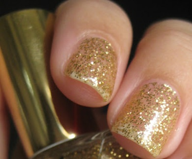 Real Gold 22kt Gold Glitter Polish