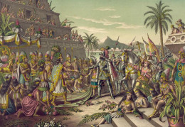 The Aztecs had prophecies for both the start and end of their world order. The end was foretold concerning the arrival of Quetzalcoatl. Cortes arrived at the very time the forecast was set to occur and the route of the Aztecs followed.