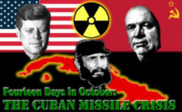 In October 1962, the nuclear apocalypse very nearly engulfed the world under M.A.D. At the last moment, the Russians conceded to remove their missiles when the US agreed secretly to remove missiles from Turkey. India forecast a 1962 apocalypse.