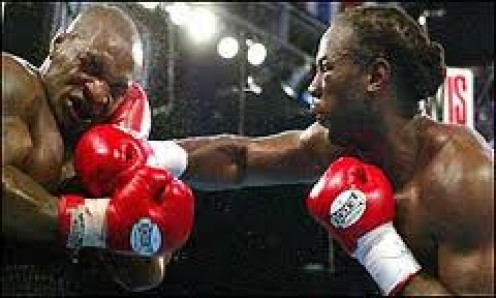 Lennox Lewis vs Mike Tyson took place in Memphis, Tennessee and Lewis knocked Tyson out in the 8th round. Tyson was past his best but tried hard.