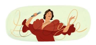 Google doodle celebrates Peruvian singer Chabuca Granda's birthday1