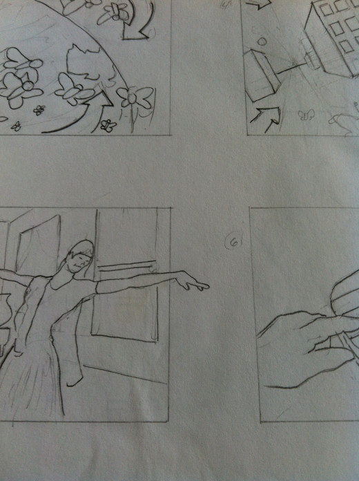 Storyboard for a Short Film for Animation