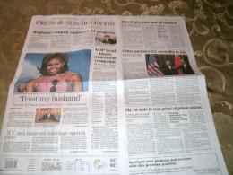 My local newspaper