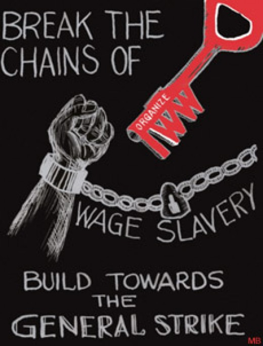 The sentiment may feel outdated but many employers still  treat workers as slaves
