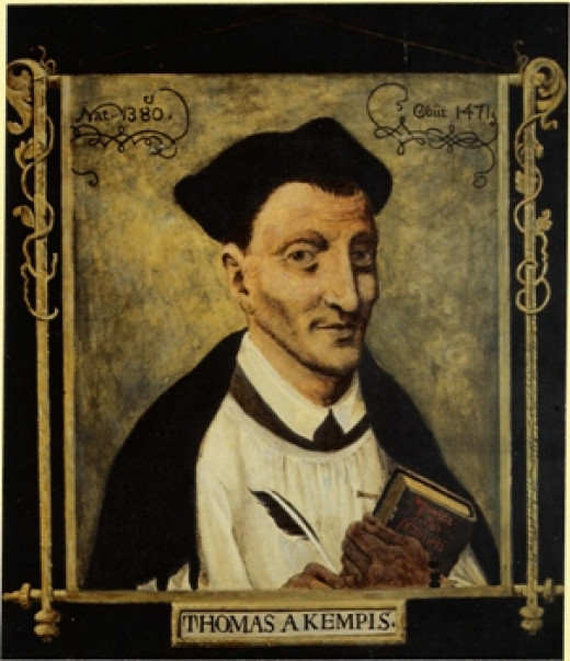 Thomas à Kempis (c. 1380 – 25 July 1471), the author of The Imitation of Christ, one of the classics in Christian devotional books.