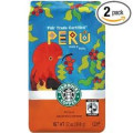 Fairtrade certified Peruvian coffee.