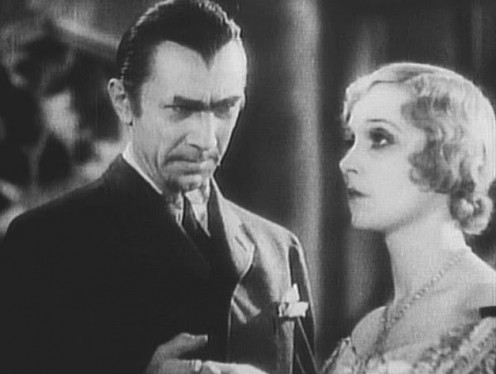 "Legosi and Madge Bellamy in ""White Zombie."""