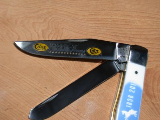 Case/Colt Trapper - 175th Anniversary of Colt Firearms, 2012
