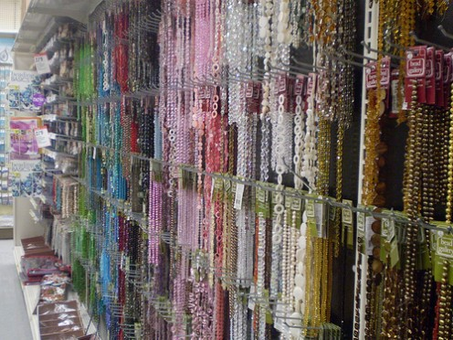 Michaels has a great selection of beads.